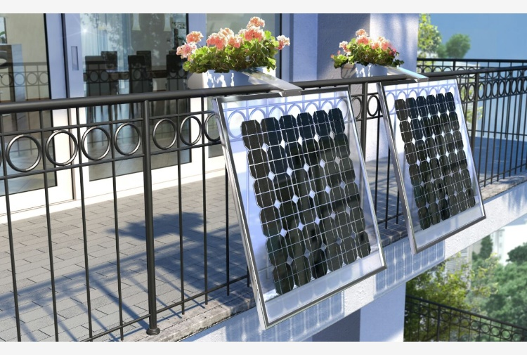I pannelli fotovoltaici si rinnovano: arrivano quelli da balcone con ...