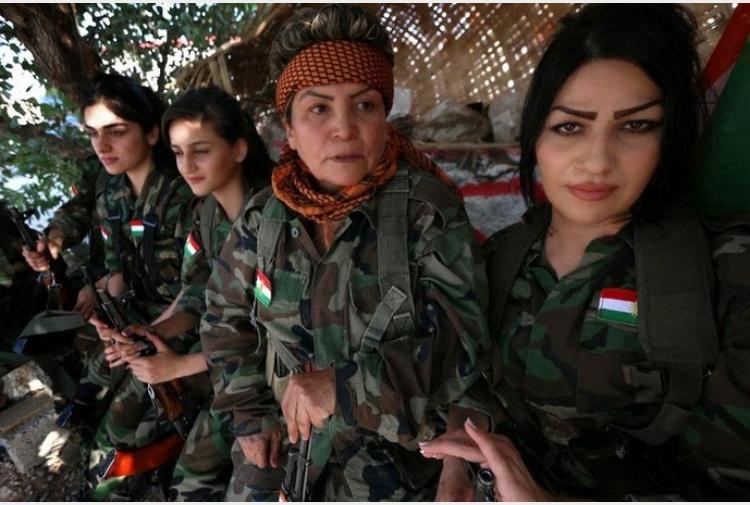 Le leonesse curde fanno paura ai terroristi tiscali - Perche le donne musulmane portano il velo ...