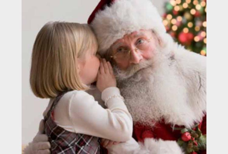 Il parroco ai bambini babbo natale non esiste genitori - Babbo natale porta i regali ai bambini ...