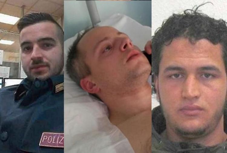 Trasferiti i due poliziotti che fermarono il killer di Berlino