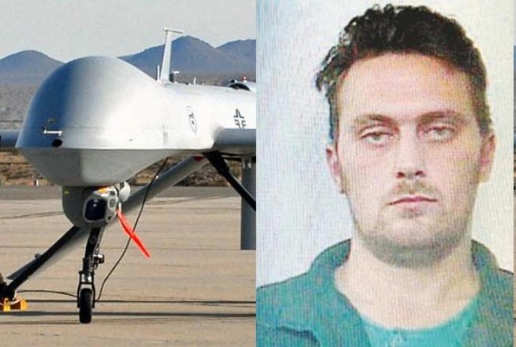 Killer ricercato: 'arruolato' anche super drone Predator