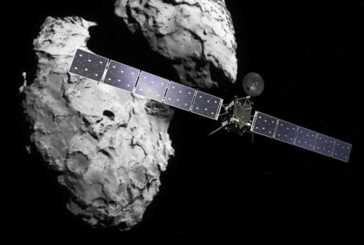 Sonda Rosetta, foto eccezionali su una cometa