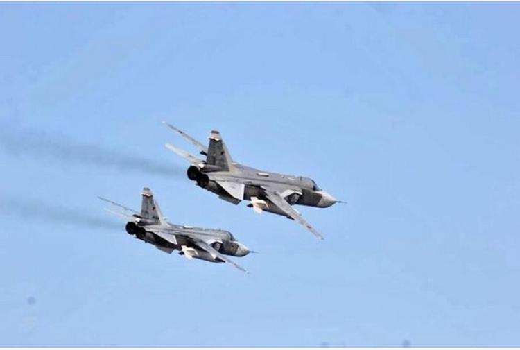 Risultati immagini per foto degli aerei sovietici che sorvolano la Siria