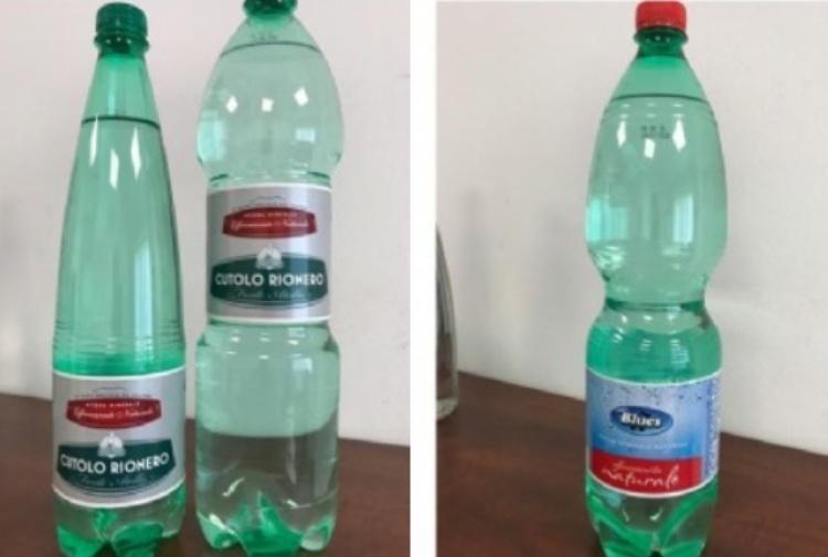 Acqua minerale con batterio killer: i lotti ritirati