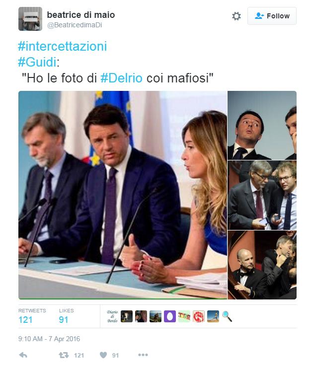 Beatrice Di Maio in realtà è la moglie di Brunetta