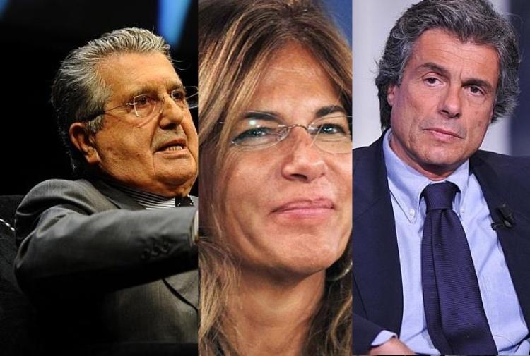 Carlo De Benedetti, Emma Marcegaglia, Alfio Marchini