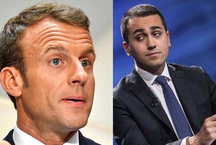 Macron e Di Maio