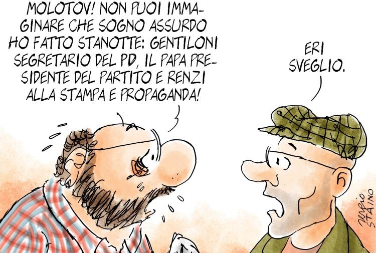 [L'esclusiva] Il grande incubo di Bobo su Papa Francesco, Renzi e Gentiloni