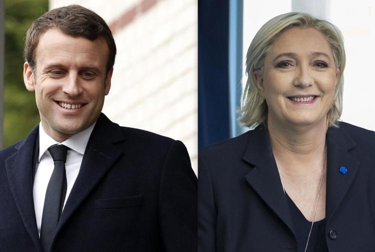 Francia, per l'Eliseo ballottaggio Macron-Le Pen