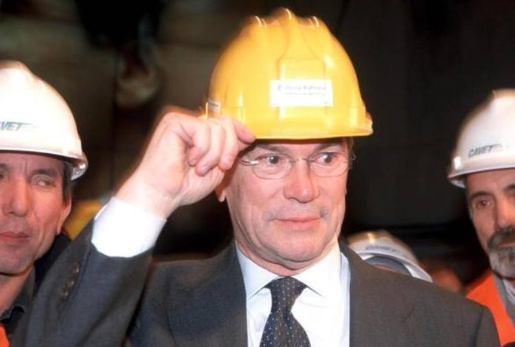 L'ex ministro Pietro Lunardi