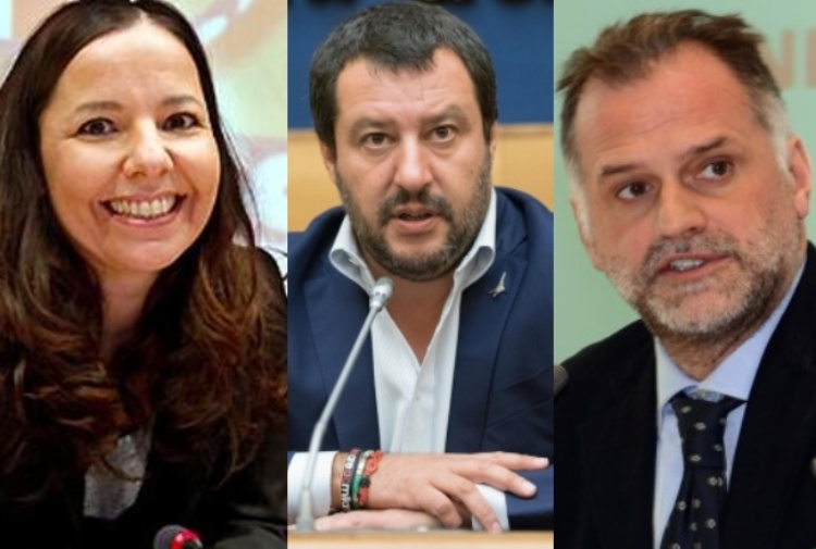 Elena Maccanti Matteo Salvini Massimo Garavaglia