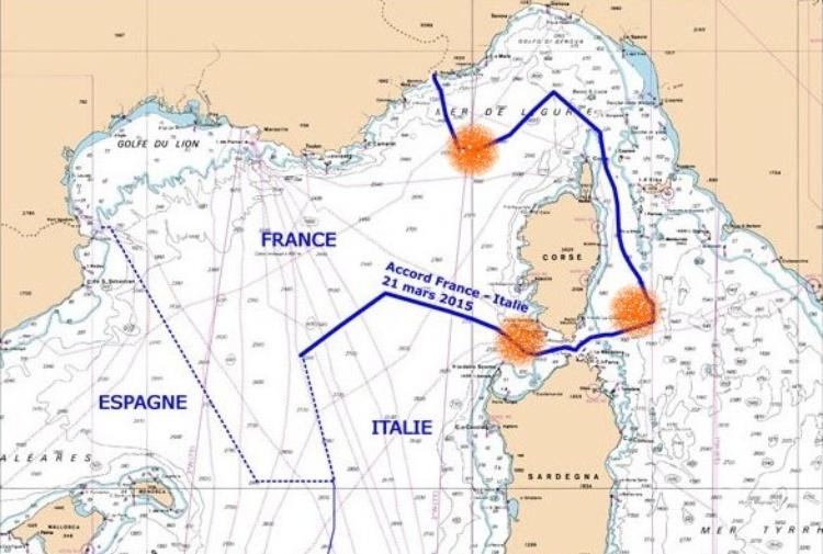 Cartina Francia Mare.Mare Italiano Scippato Dalla Francia Tra Bufale Ed