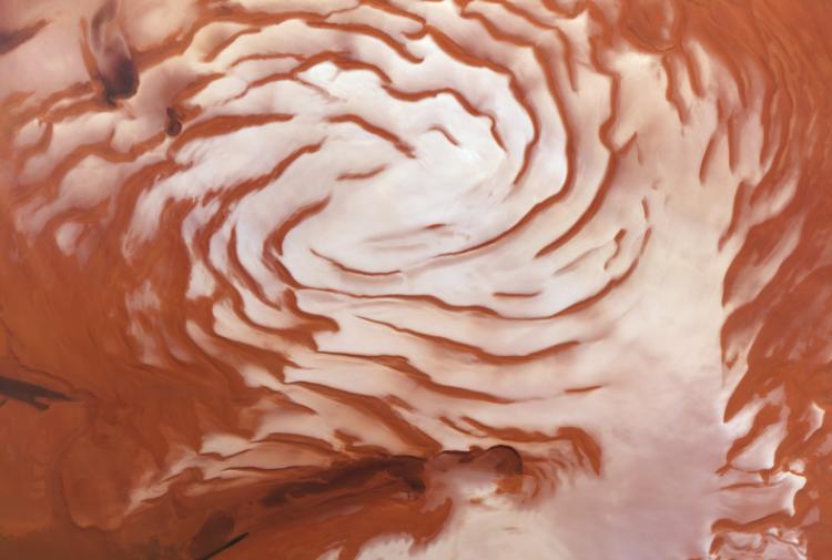 Marte avrebbe affrontato la glaciazione 400.000 anni fa