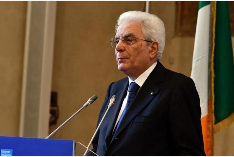 Mattarella omaggia Luigi Einaudi