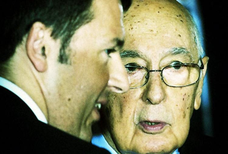 Giorgio Napolitano si iscrive al partito del non voto: