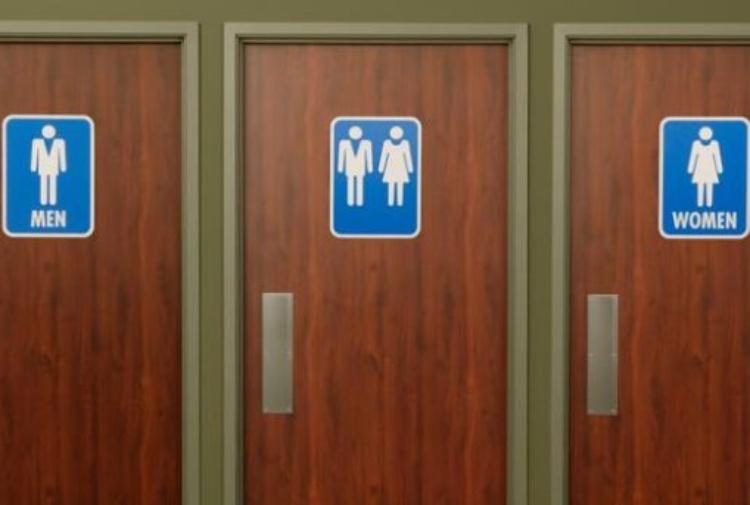 Arriva il primo un bagno pubblico no gender d\'Italia - Tiscali Notizie