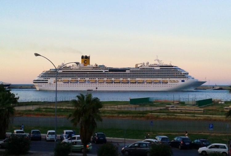Acqua alle navi da crociera, molte zone di Palermo a secco