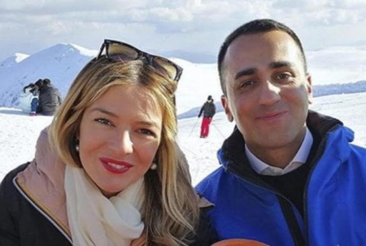 Luigi Di Maio e la candidata M5S Marcozzi