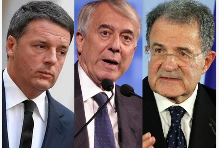 A sinistra il Re è nudo: al voto da soli, addio a Renzi