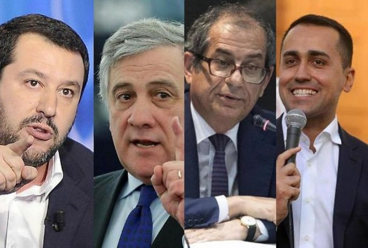 Salvini e Di Maio: azzerare vertici Bankitalia e Consob
