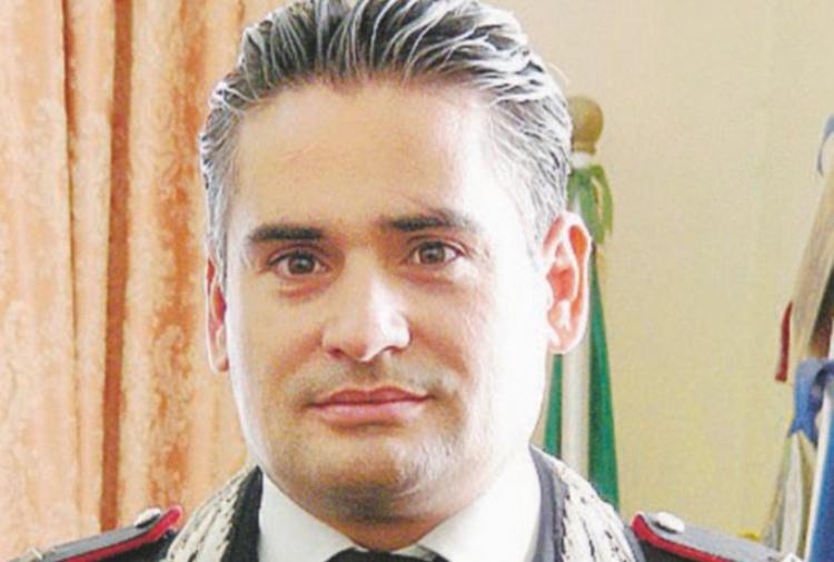 Il capitano Gianpaolo Scafarto