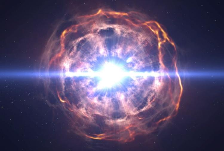 il sistema solare 232 nato dall�esplosione di una supernova