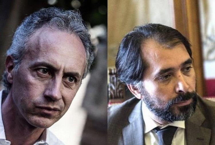 Marco Travaglio e Raffaele Marra