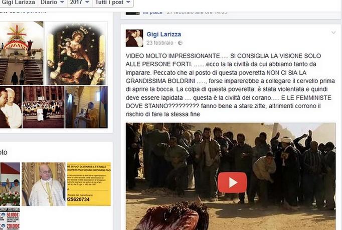 Migranti, don Larizza: