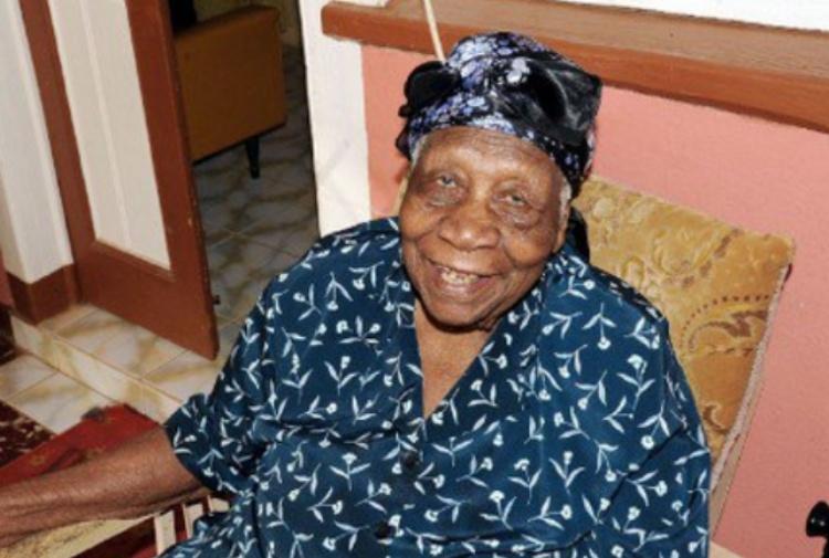 Persona piu' vecchia mondo ha 117 anni