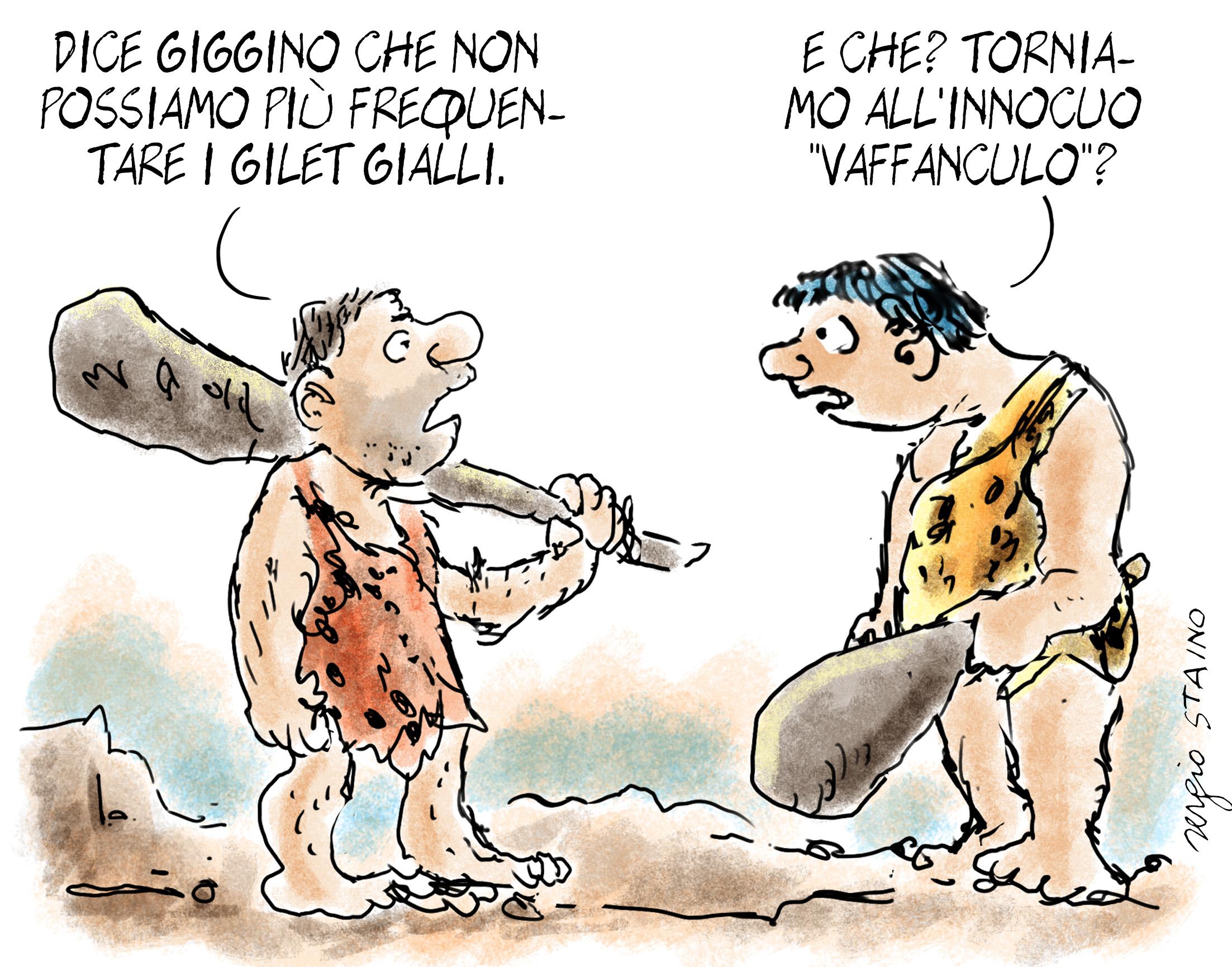 La vignetta] Le giravolte di Di Maio sconcertano i grillini - Tiscali  Notizie