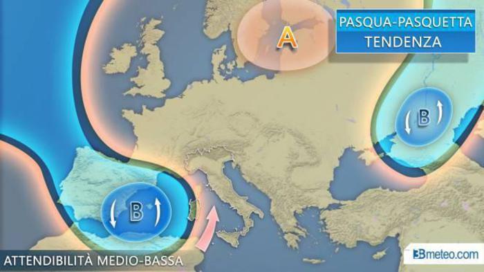 Meteo Pasquetta, le previsioni per lunedì 22 aprile non sono affatto positive