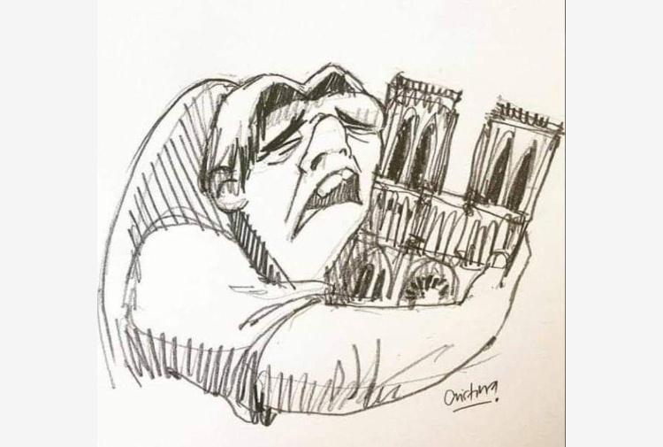 Notre Dame, l'incendio e l'incredibile profezia di Victor Hugo nel 1831